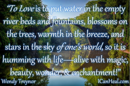2019.07.16.To Love is to Put Water in the Empty River Beds and Fountains by Wendy Treynor